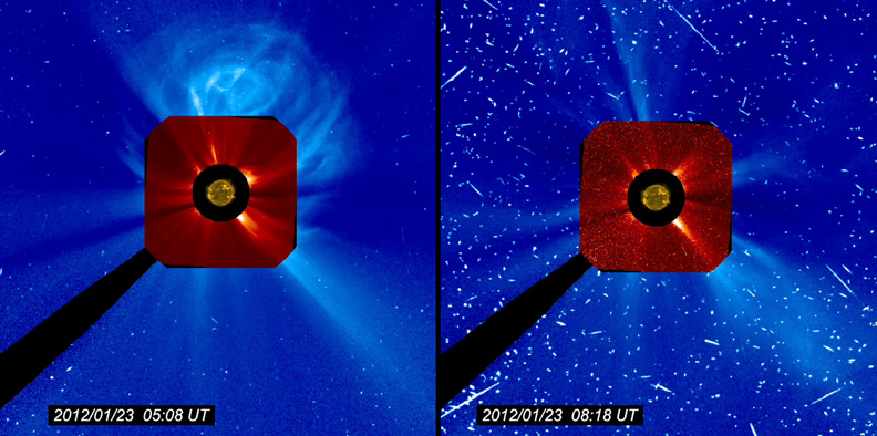 Geo-effective Flare and Coronal Mass Ejection