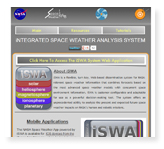 Integrated Space Weather Analysis System (iSWA)